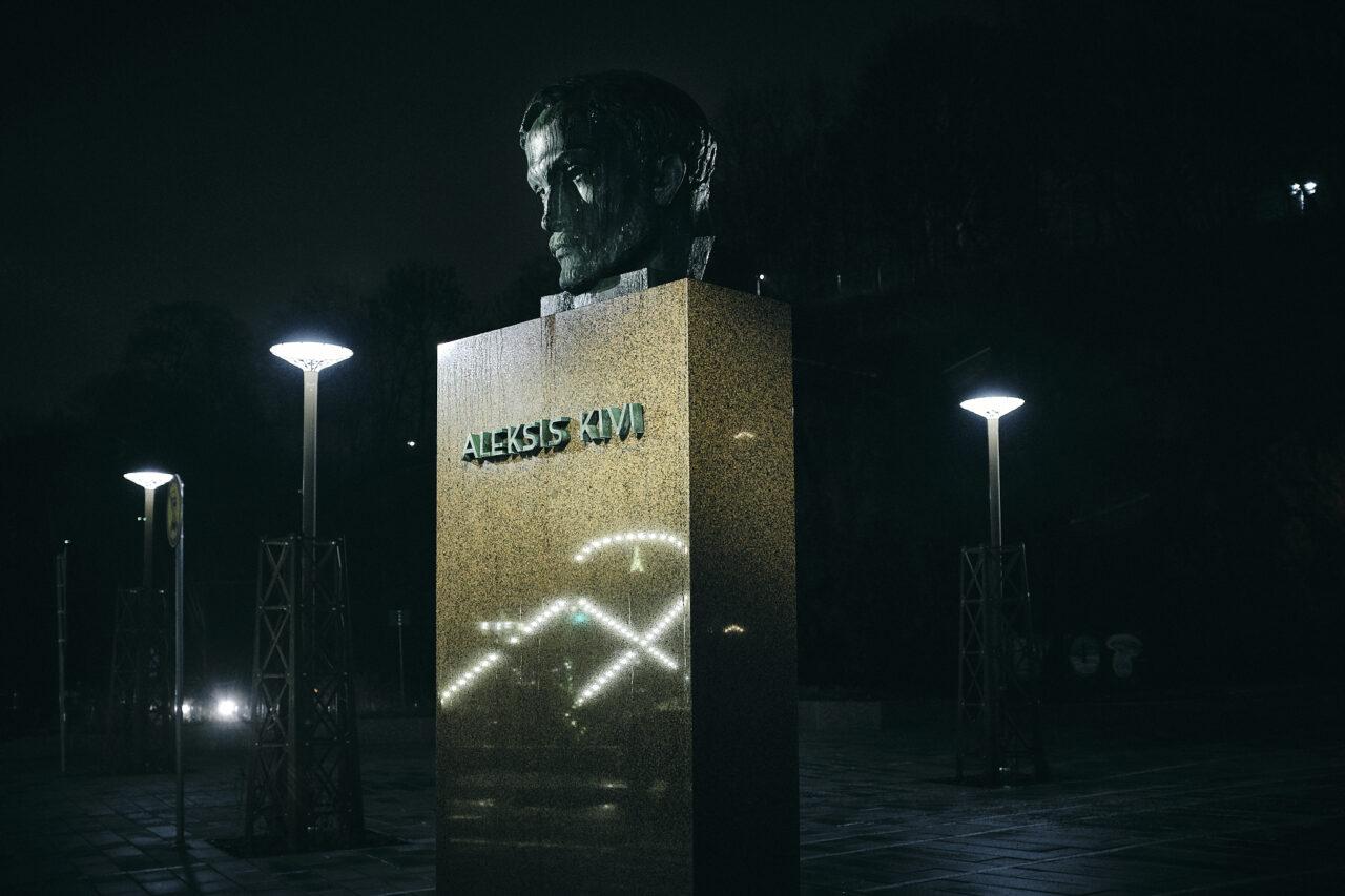 Aleksis Kiven patsas Turussa
