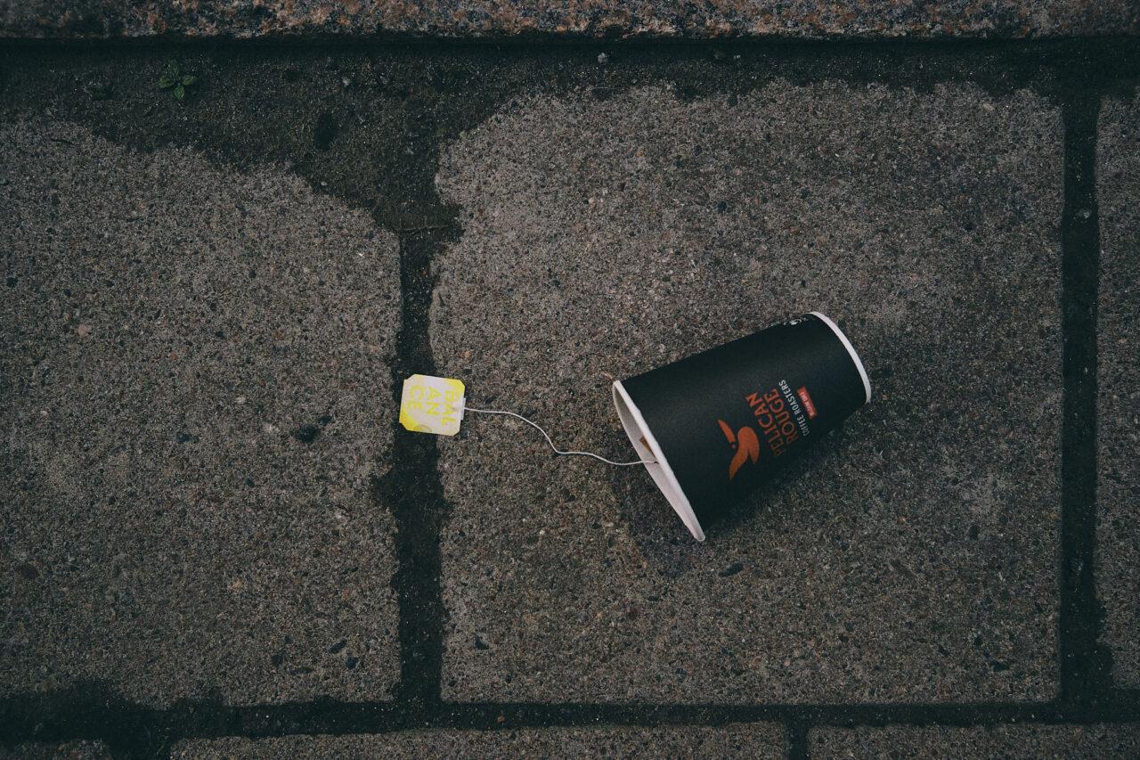 Paperimuki kadulla