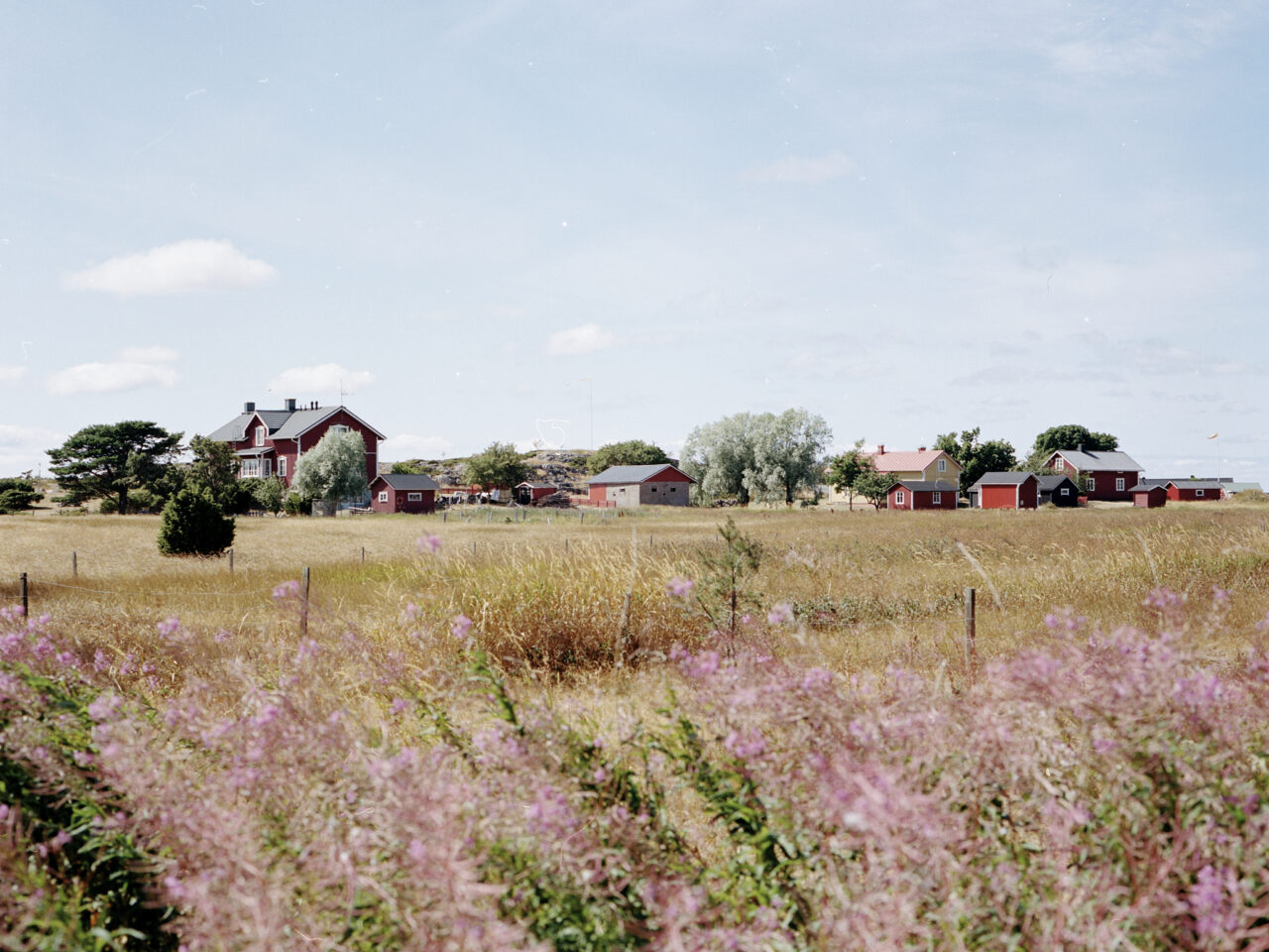 Jurmo, Saaristomeri (värikuva, 120 filmi)